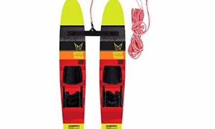 HO Sports Kids Hot Shot Trainer Skis with Trainer Rope Review