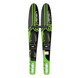 O'BRIEN JR VORTEX KIDS COMBO WATER SKIS WITH X-7 BINDINGS-REVIEW