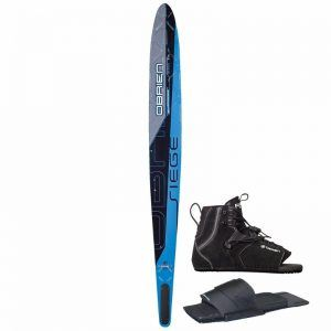 O'Brien Siege Slalom Waterski with Men's Force Boot and Rear Toe Piece Review
