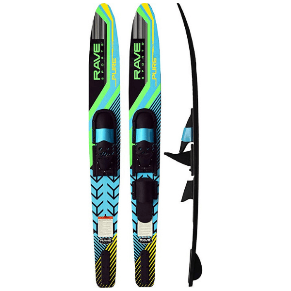 2. RAVE PURE ADULT COMBO WATERSKIS